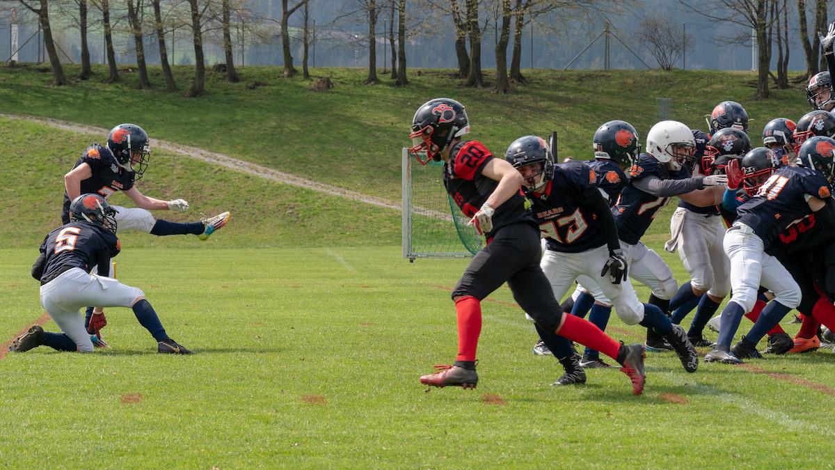 St. Gallen Bears U19 Vs Argovia Pirates U19