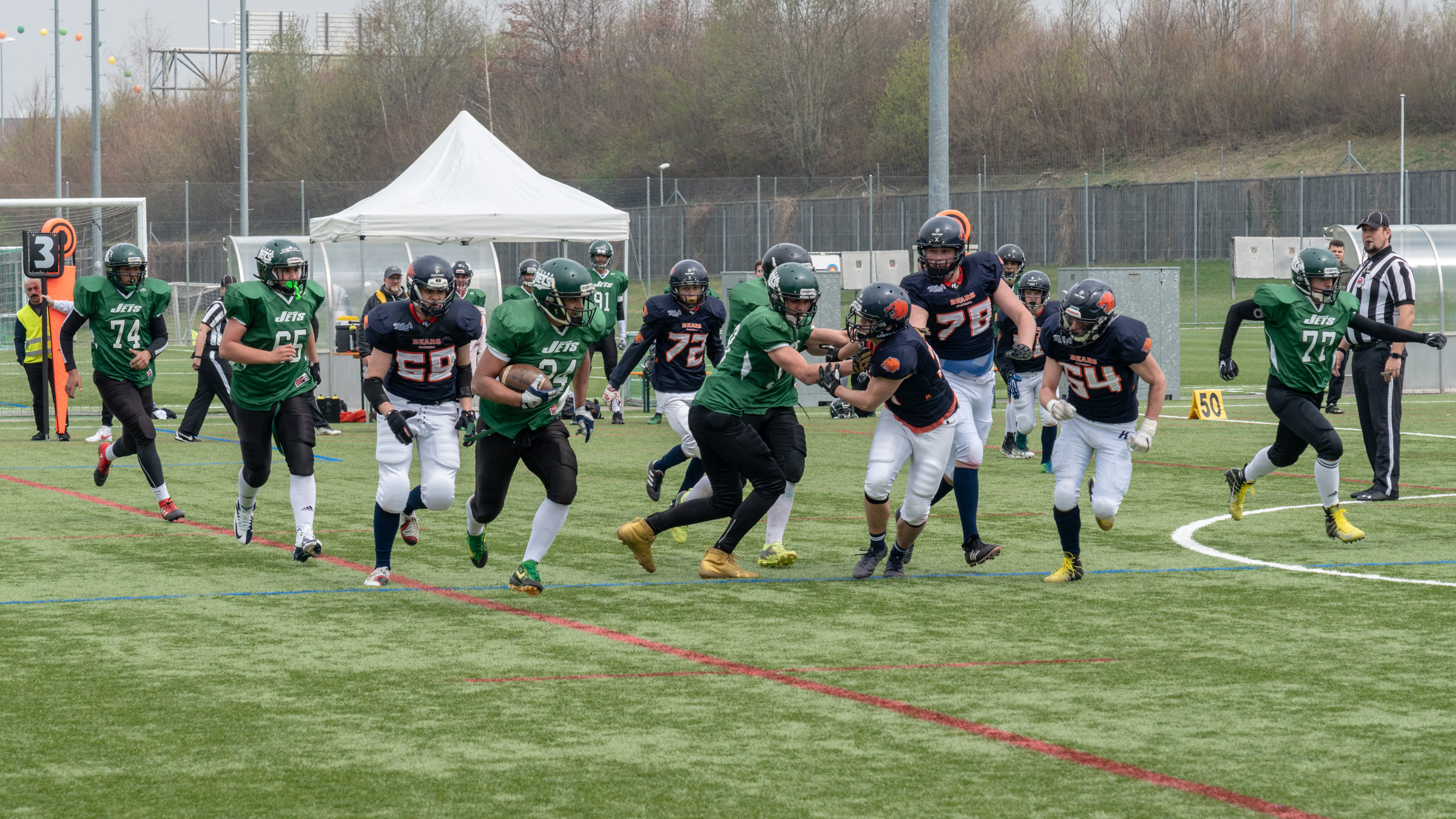 St. Gallen Bears U19 Vs Bienna Jets U19