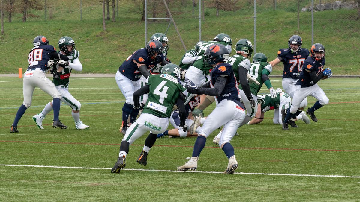 St. Gallen Bears Vs Bienna Jets