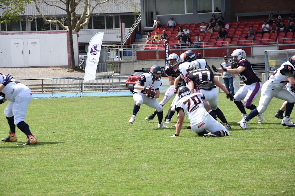 Thun Tigers Vs St. Gallen Bears